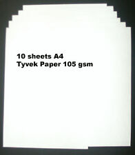 Tyvek A4 105 gsm - Pack of 10 sheets Tyvek Paper