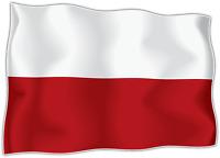 10x Autocollant Sticker drapeau Pologne polonais polska flag vinyle voiture moto