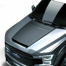 Fits 15-20 Ford F150 Air Design Custom Style Hood Scoop Satin Black NEW FO25A01