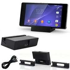 Magnetic Charging Dock Cradle Stand Charger for Sony Dk36 Xperia Z2 L50w