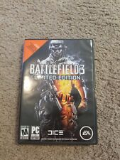 Battlefield 3: Limited Edition (PC, 2011) In Very good condition.