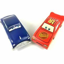 New DISNEY PIXAR CARS 2 WOOD COLLECTION Lightning McQueen Sally Xmas gift AK481