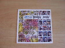 """The Apples: Beautiful People 7"""": 1991 UK Release: Picture Sleeve"""