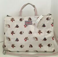 CATH KIDSTON DOG PORTRAITS STRAPPY CARRYALL BAG