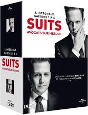 COFFRET SUITS SAISON 1 A 5 DVD   NEUF SOUS CELLOPHANE