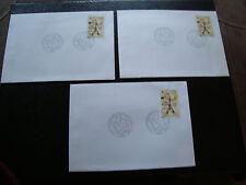 FRANCE - 3 enveloppes 1er jour 7/11/1996 salon d automne) (cy53) french