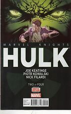 MARVEL COMICS MARVEL KNIGHTS HULK #2 MARCH 2014 1ST PRINT NM