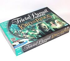 ✨ LORD OF THE RINGS TRIVIAL PURSUIT BOARD GAME TRILOGY EDITION ~PARKER BROTHER ✨