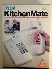 NOS GTE KITCHENMATE CORDLESS TELEPHONE SYSTEM 15000