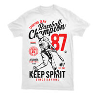 T Shirt Baseball Team League American Champions World Chicago Cubs Major  S-3XL