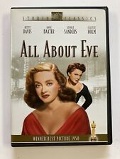 All About Eve (1950) Dvd Bette Davis Anne Baxter George Sanders Fox