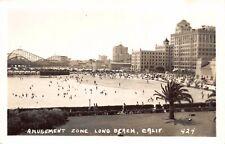 RPPC Amusement Zone Roller Coaster and Beach in Long Beach, California~119494
