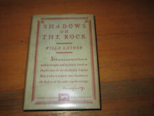 Willa Cather SHADOWS ON THE ROCK 1st Edition in jacket