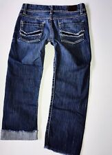 The Buckle BKE ADDISON Mid Rise Cropped Jeans Sz 27