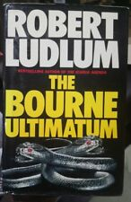 The Bourne Ultimatum by ROBERT LUDLUM - 1990 1st ed Hardcover with Dust cover
