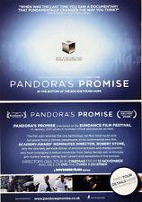 PANDORA'S PROMISE FILM POSTCARDS X 2 - ROBERT STONE