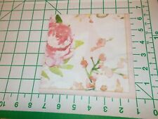 """Two Decorative Luncheon Napkins for Decoupage /""""Patina Vie Pink/"""""""