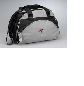 Corvette Logo Coolers C2 C3 C5 C6 in Red/Black and Gray/Black Brand New