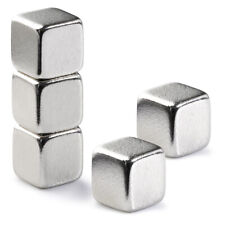Very Strong 5mm Cube Neodymium Magnets 1.1Kg Pull Rare Earth Block Magnetic N42