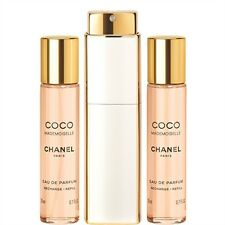 CHANEL COCO MADEMOISELLE (3 x 0.7 oz) Eau De Parfum EDP TWIST AND SPRAY, NIB