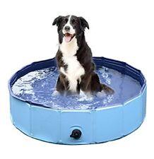 Comz Foldable PVC Dog Cat Swimming Pool Bathing Tub Pet Outdoor Swimming Playing