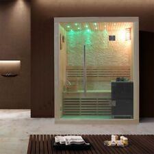 Sauna | Pappelholz | 3kW EOS BiO-Mini | 180x105 cm