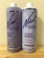 Nick Chavez Advanced Volume Shampoo & Conditioner 32 fl oz (64 oz total) 2 Pumps