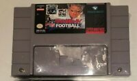 Troy Aikman NFL Football Super Nintendo 1994 SNES Tested And Resealed