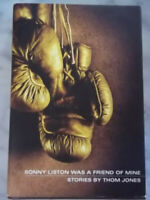 Sonny Liston Was a Friend of Mine Short Stories Thom Jones Signed Comic drawing