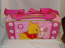 """NEW IN PACKAGE WINNIE THE POOH AND PIGLET 16"""" DISNEY  LARGE DUFFLE, TRAVEL BAG"""