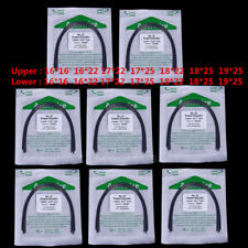 10Pc Dental  Arch Wire Super Elastic Niti Ovoid Rectangular 016*016 -19*25 U/ L