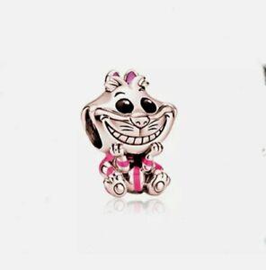 🌟 Rose Gold Disney X Cheshire Cat Wonderland Charm Add On Pandora Bracelet