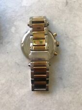 Gold and silver Michael Kors watch used womens