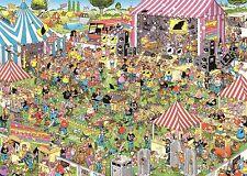 NEW! Jumbo Pop Festival by Jan van Haasteren 1000 piece comic jigsaw puzzle