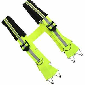 Firefighter Pant Suspenders Fire/Rescue Quick Adjust Suspenders with X-Large