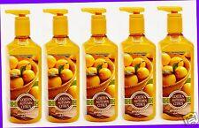 5 Bath & Body Works GOLDEN AUTUMN CITRUS Deep Cleansing Hand Soap