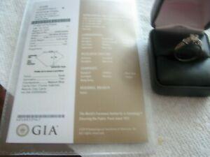 GIA PLATINUM Diamond  VS2 Diamond Ring, GIA Certificate include