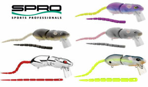 Spro BBZ-1 Rat 30 Baby Swimbait (Various Colors)