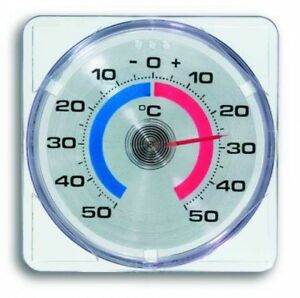 Fensterthermometer selbstklebend Außenthermometer Zimmerthermometer