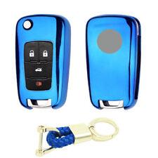 3 4 5 button tpu flip Key Case Fob cover For Chevrolet Cruze Camaro Equinox Aveo