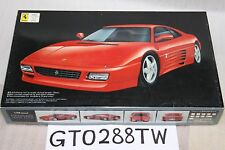 Fujimi 1/24 scale Ferrari 348 GTB 1994/348tb Coupe kit(Original Issue in 1995)