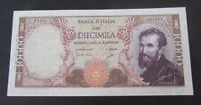 10000 LIRE MICHELANGELO  27 / 7 / 1964 FDS