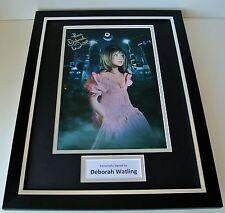 Deborah Watling SIGNED FRAMED Photo Autograph 16x12 display Doctor Who TV & COA