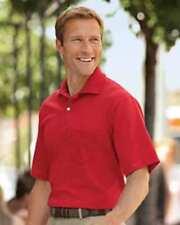 Pocket Polo Golf Shirt Jerzees 436MP, Adult, Hot Sports Colors, Cotton Blend