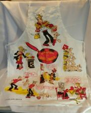 Vtg Blondie and Dagwood Apron 1959 Cooking Capers Daisy Chic Young Unisex Funny