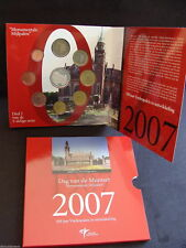 Dag van de Munt 2007 BU-set Official Currency Euro coin set Holland