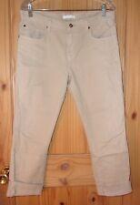 7 For All Mankind Khaki Factory-Distressed Boyfriend Jeans, 35 x 28