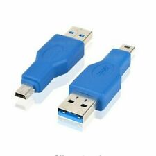 USB3.0 A Male Port to USB3.0 mini B Male Connector data Converter Charge Adapter