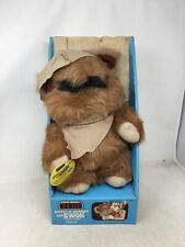Star Wars 1983 Kenner Wicket Warrick Ewok Plush Stuffed ROTJ With Box