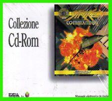 STRIKE COMMANDER man.ITA simulatore di volo f16 pc cd rom origin